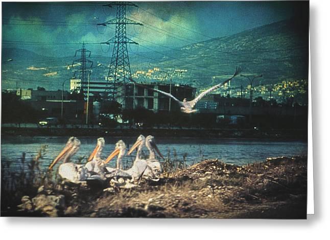 Radioactive Days Greeting Card by Taylan Soyturk