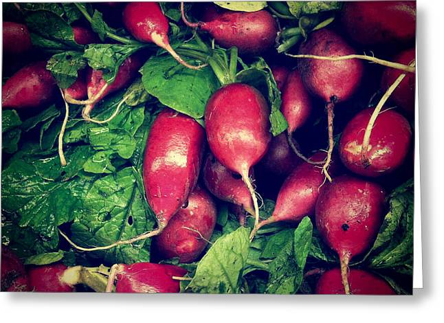 Radishes Greeting Cards - Radishes Greeting Card by Amy Cicconi