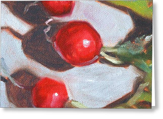 Radishes Greeting Cards - Radishes Greeting Card by Nancy Merkle