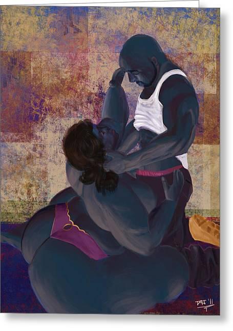 African-american Digital Greeting Cards - Ragamuffin Love Greeting Card by David James