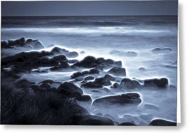 Aotearoa Greeting Cards - Raglan Beach Greeting Card by motography aka Phil Clark