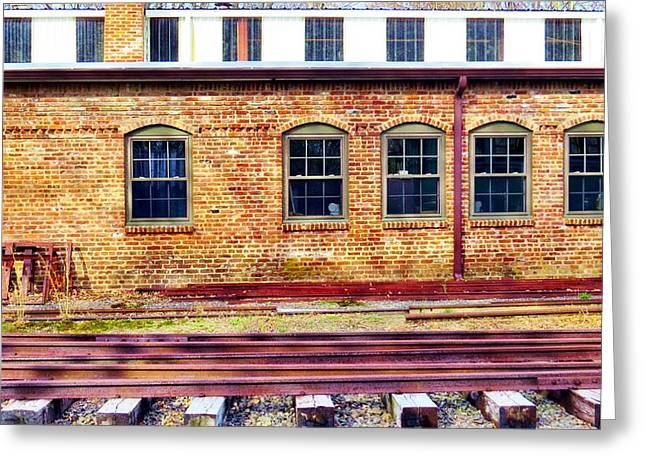 Historic Architecture Greeting Cards - Rails Greeting Card by Michelle Milano
