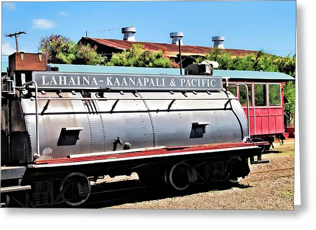 Railyard Greeting Cards - Railyard 7 Greeting Card by Dawn Eshelman
