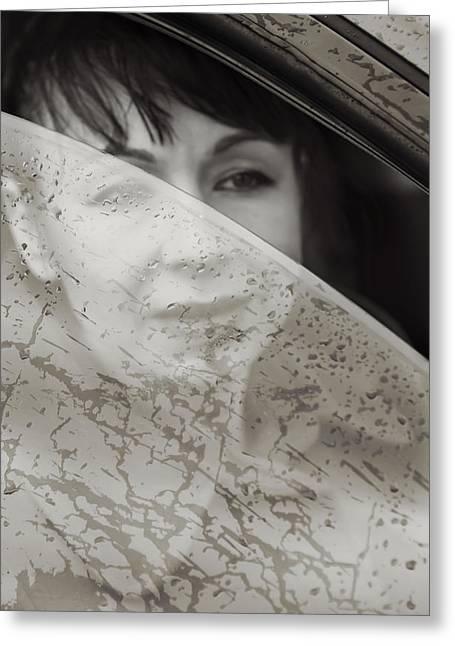 Lena Greeting Cards - Rain again Greeting Card by Svetlana Sewell