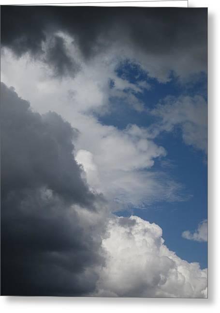 Guy Ricketts Photography Greeting Cards - Rain Clouds Greeting Card by Guy Ricketts