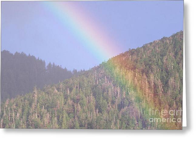 Charlotte Greeting Cards - Rainbow Greeting Card by Art Wolfe