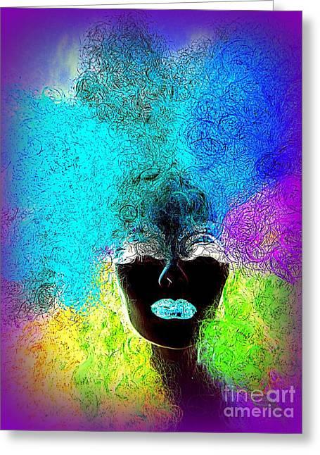 Rainbow Beauty Greeting Card by Ed Weidman
