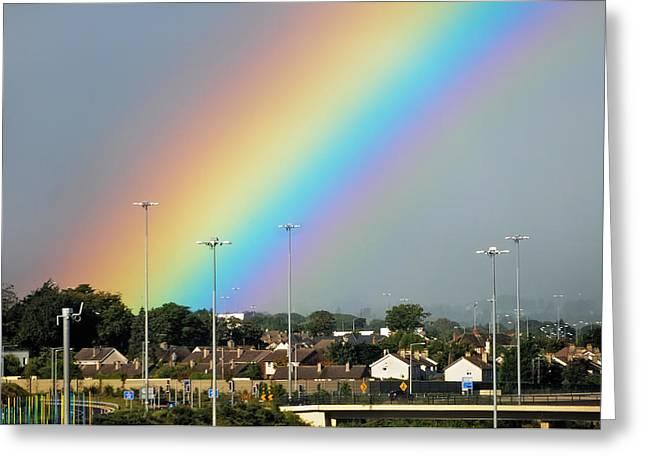 Jenny Rainbow Fine Art Photography Greeting Cards - Rainbow Bless Greeting Card by Jenny Rainbow