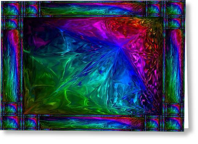 Best Greeting Cards - Rainbow Fantasy Greeting Card by Nikki Keep