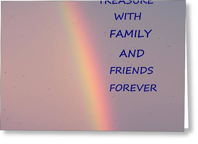 Rainbow Happiness Greeting Card by Joseph Baril