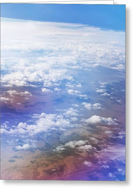 Ocean Art Photography Greeting Cards - Rainbow Ocean Greeting Card by Jenny Rainbow