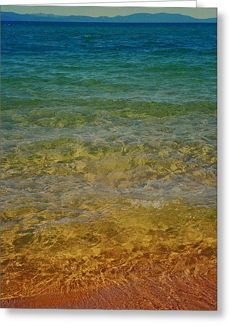 Dayne Greeting Cards - Rainbow Tahoe Greeting Card by Dayne Reast