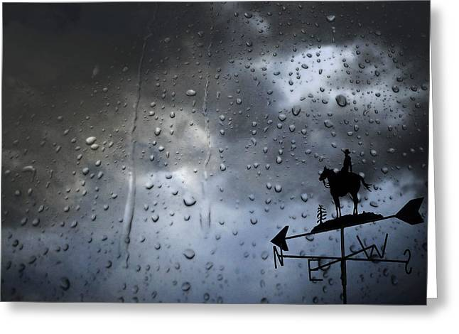Drab Greeting Cards - Rainy Day Greeting Card by Mountain Dreams