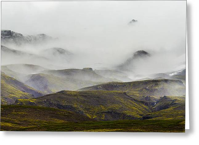 Collection Greeting Cards - Ramble thru the Mountains I Greeting Card by Jon Glaser