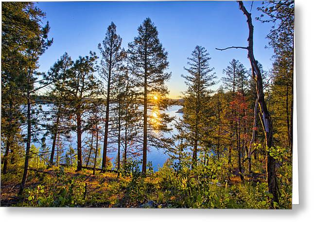 Wildfires Greeting Cards - Rampart Greeting Card by Thomas Zimmerman