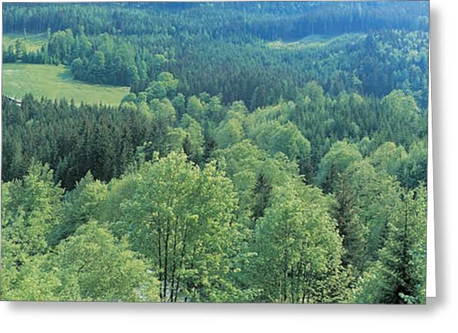 Bavaria Greeting Cards - Ramsau Bavaria Germany Greeting Card by Panoramic Images