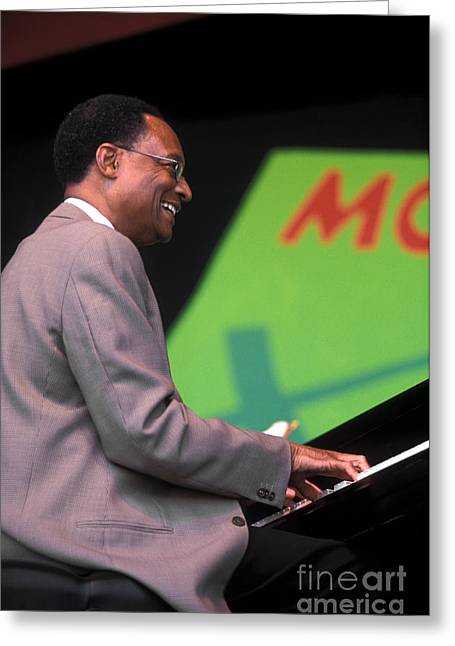 Ramsey Lewis Greeting Card by Craig Lovell