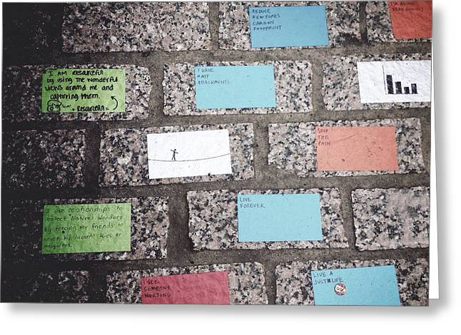 Dumbo Greeting Cards - Random Generators Greeting Card by Natasha Marco