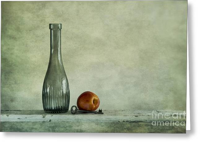 Food Still Life Greeting Cards - Random Still Life Greeting Card by Priska Wettstein