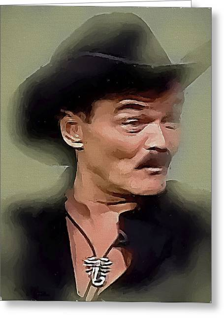 Randy Greeting Cards - Randy Jones Village People 2 Greeting Card by Yury Malkov