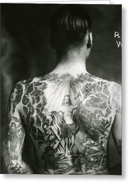 Recently Sold -  - Tattoo Flash Greeting Cards - randy webb Tattoo Flash Art Greeting Card by Larry Mora