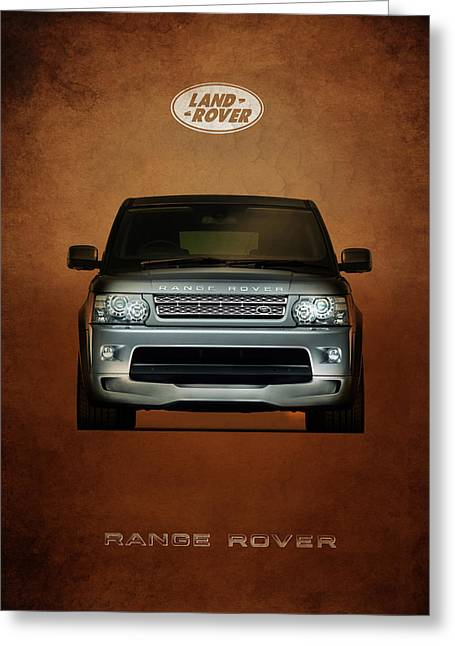 Rover Greeting Cards - Range Rover Greeting Card by Mark Rogan