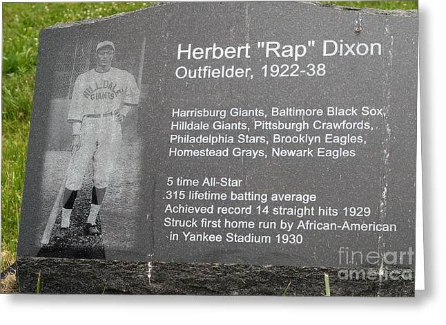 Negro Leagues Greeting Cards - Rap Dixon Greeting Card by Paul W Faust -  Impressions of Light