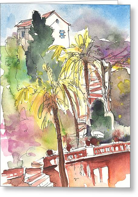 Rapallo In Italy 04 Greeting Card by Miki De Goodaboom
