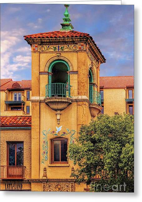 Best Sellers -  - Renaissance Center Greeting Cards - Rapunzel let down your hair Greeting Card by Jon Burch Photography
