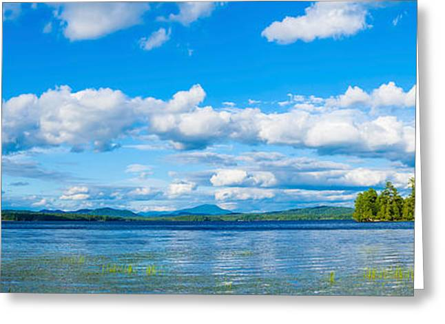 Adirondack Mountains Greeting Cards - Raquette Lake In The Adirondack Greeting Card by Panoramic Images