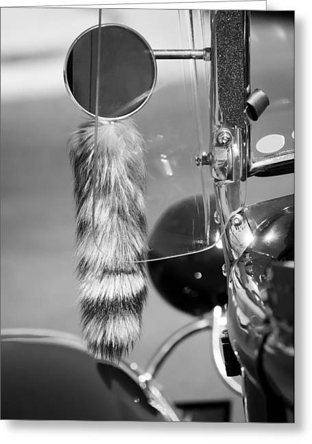 Rat Rod Coontail Greeting Card by Jill Reger