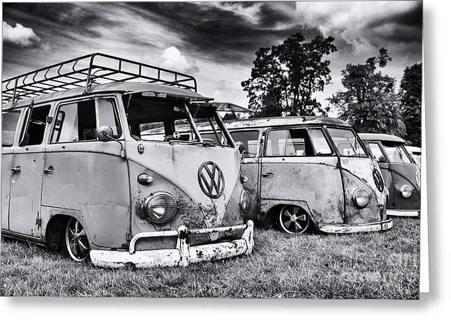 Front End Greeting Cards - Rat Vans Greeting Card by Tim Gainey