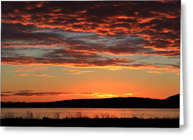 Bc Coast Greeting Cards - Rathtrevor Beach Sunrise Greeting Card by Randy Hall