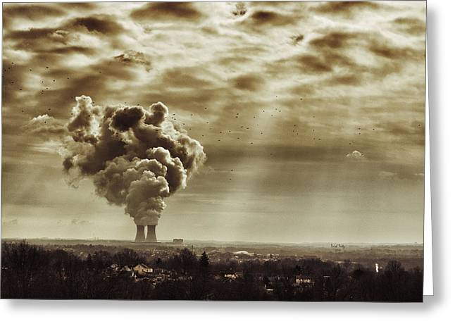 Power Plants Greeting Cards - Rattlesnake Hill Greeting Card by Trish Tritz
