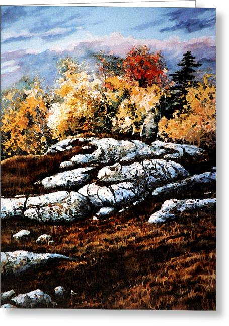 Huntsville Greeting Cards - Raw North Greeting Card by Hanne Lore Koehler