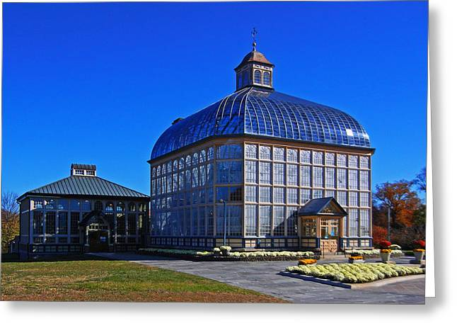 Rawlings Greeting Cards - Rawlings Conservatory Greeting Card by Bill Swartwout