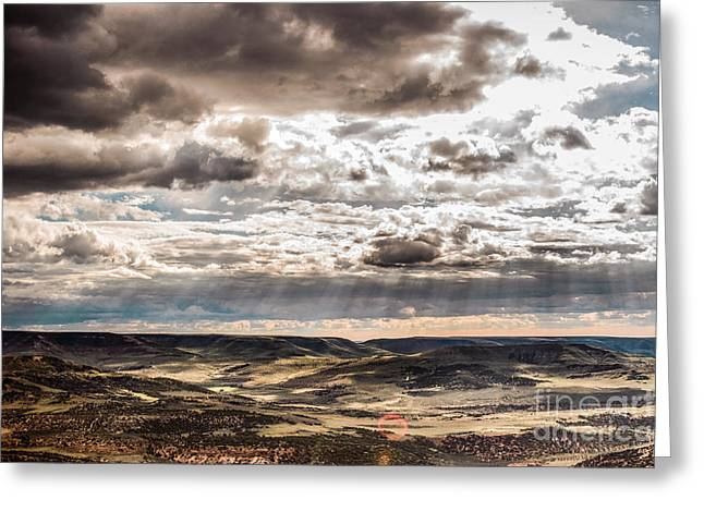 Scenery Greeting Cards - Ray Greeting Card by Joseph Rossi