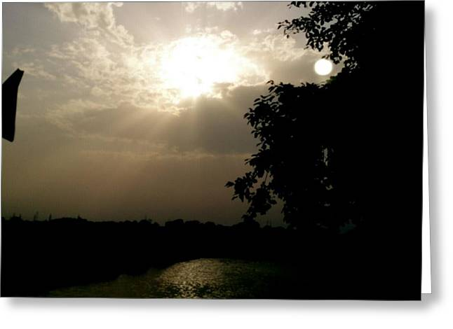 Prashant Ambastha Greeting Cards - Ray Of Hope Greeting Card by Prashant Ambastha