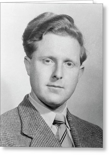 Raymond Gosling Greeting Card by King's College London Archives
