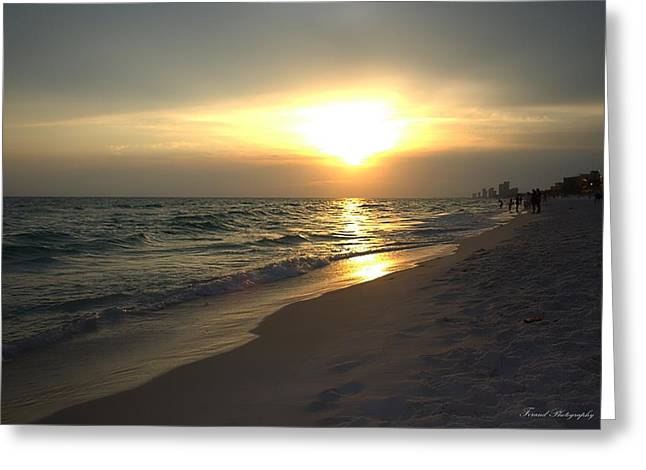 Panama City Beach Greeting Cards - Rays of Hope Greeting Card by Debra Forand