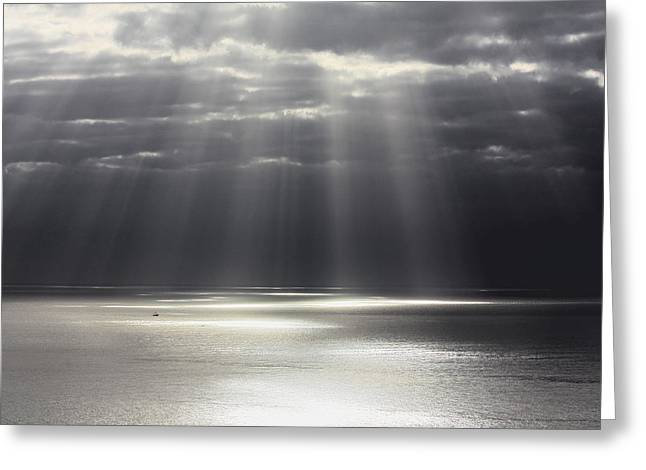 Rays of Hope Greeting Card by Shane Bechler