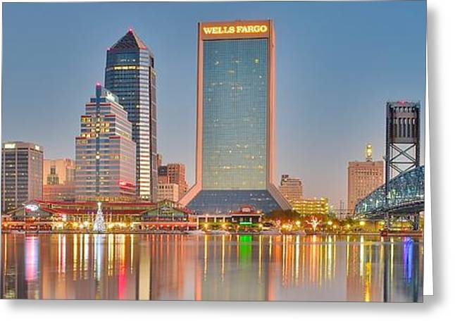 Jacksonville Greeting Cards - Rays of Sunshine in the Sunshine State Greeting Card by Frozen in Time Fine Art Photography