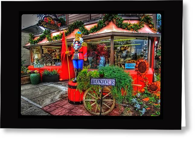 Photos For Sale Greeting Cards - RBlooms Nutcracker Greeting Card by Thom Zehrfeld