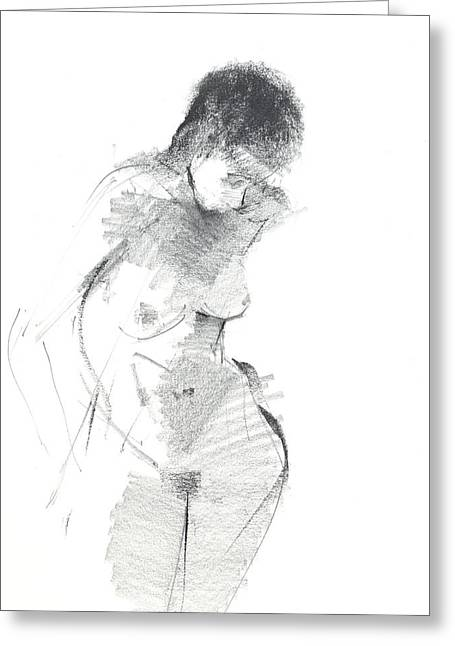 Charcoal Greeting Cards - RCNpaintngs.com Greeting Card by Chris N Rohrbach
