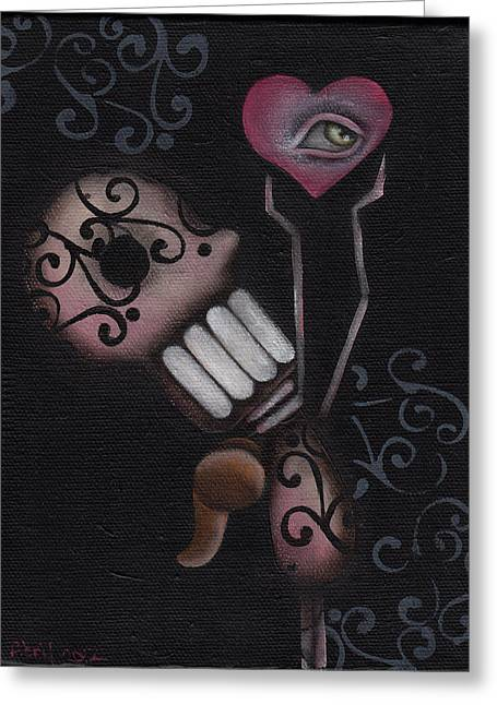 Surreal Pop. Abril Greeting Cards - Reach for it  Greeting Card by  Abril Andrade Griffith
