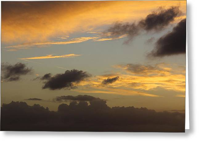 Heavenly Sunset Greeting Cards - Reach for the Sky 24 Greeting Card by Mike McGlothlen