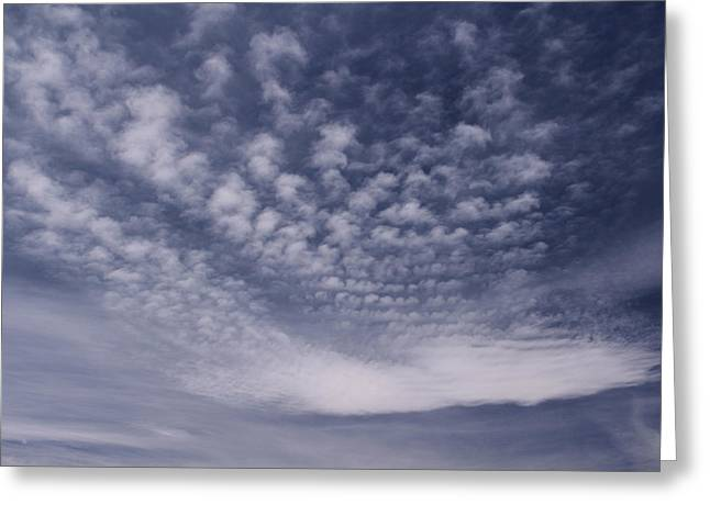 Puffy Clouds Greeting Cards - Reach for the Sky 28 Greeting Card by Mike McGlothlen