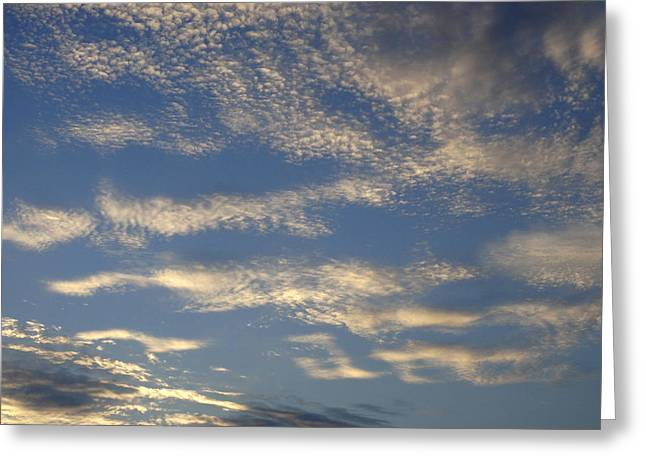 Puffy Clouds Greeting Cards - Reach For The Sky 29 Greeting Card by Mike McGlothlen