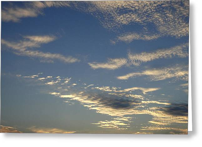 Puffy Clouds Greeting Cards - Reach For The Sky 30 Greeting Card by Mike McGlothlen