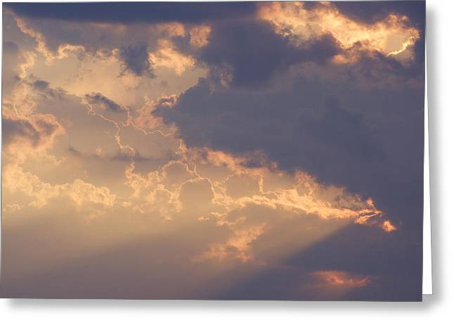 Reach For The Sky 9 Greeting Card by Mike McGlothlen